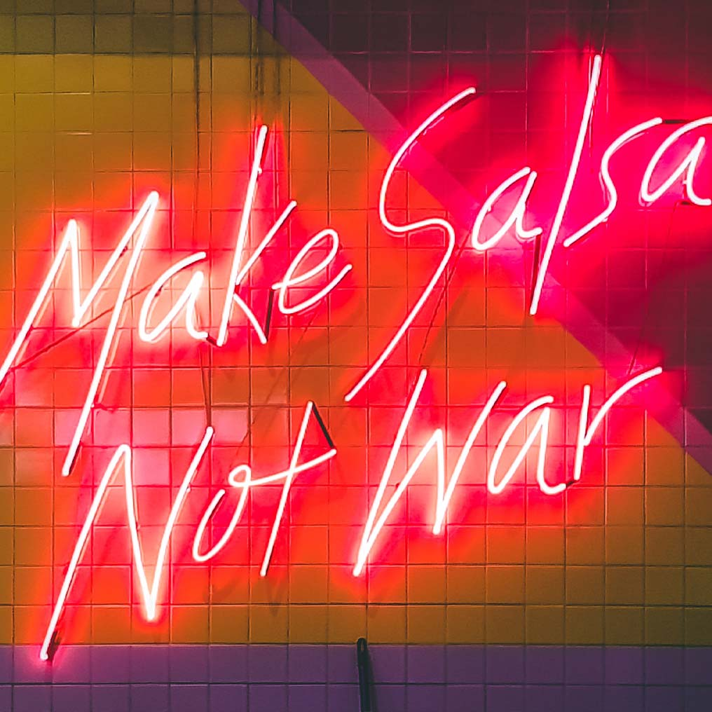 Make Salsa Not War